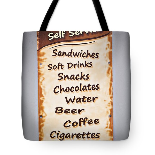 Tote Bag featuring the photograph The One Stop Shop by Meirion Matthias
