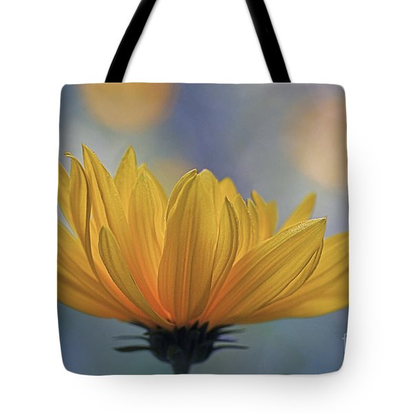 The One Who Dances With Light Tote Bag by Maria Ismanah Schulze-Vorberg