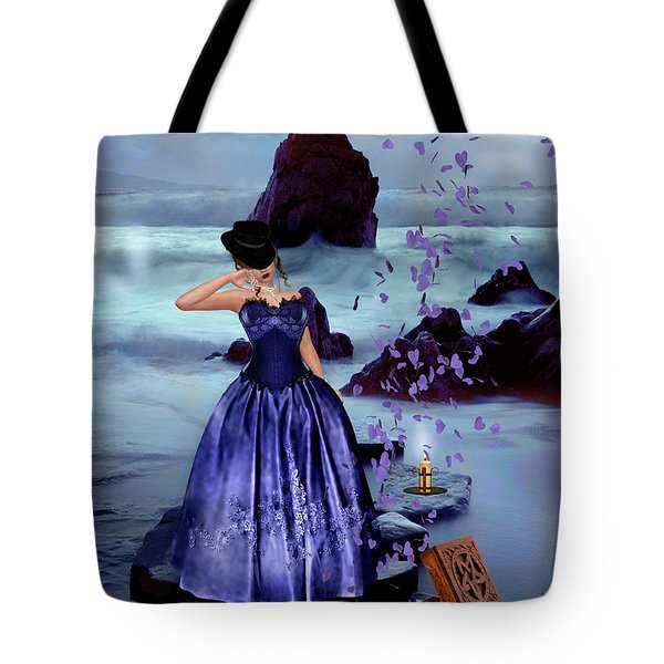 The Open Box Tote Bag by Kristie  Bonnewell