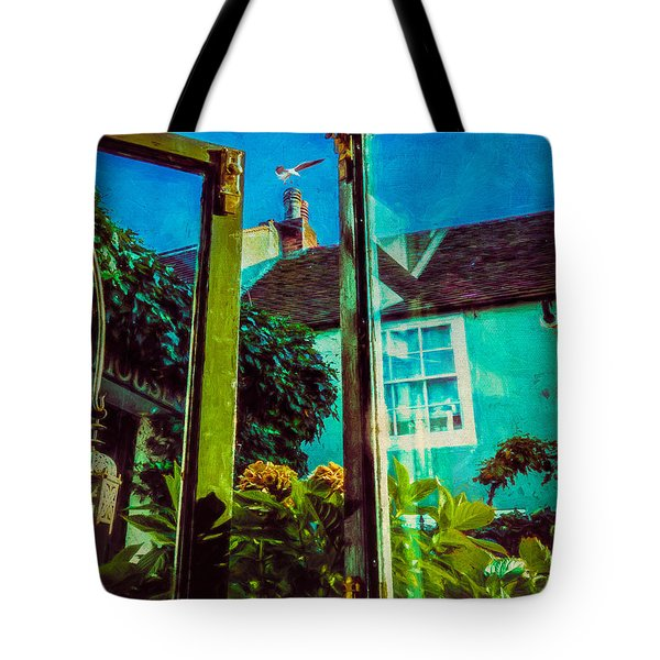 Tote Bag featuring the photograph The Open Window by Chris Lord