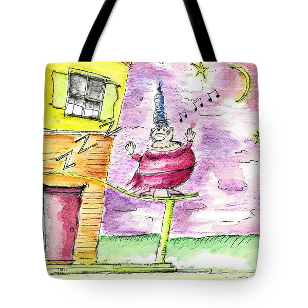 The Opera Singer Tote Bag by Jason Nicholas