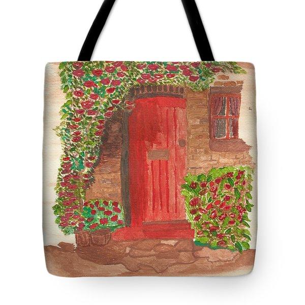 The Orange Door Tote Bag