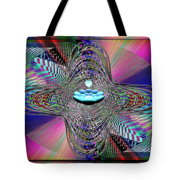 The Orb And The Bowl Tote Bag by Tim Allen