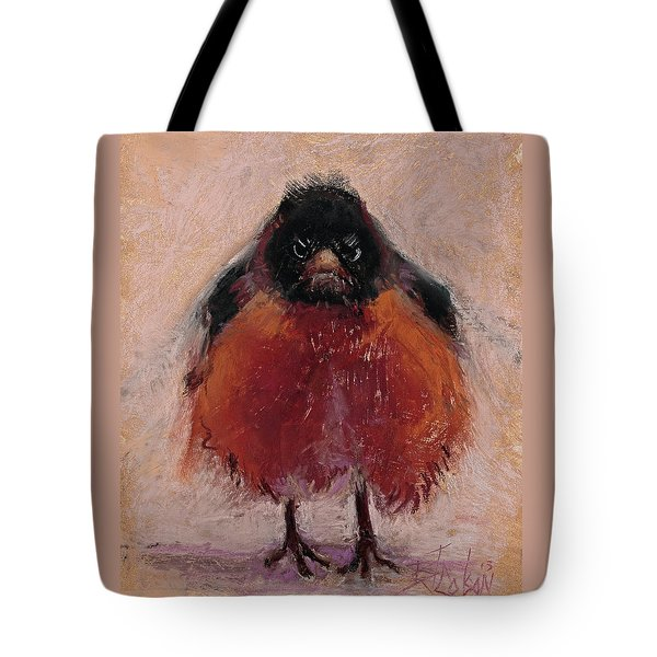 The Original Angry Bird Tote Bag by Billie Colson