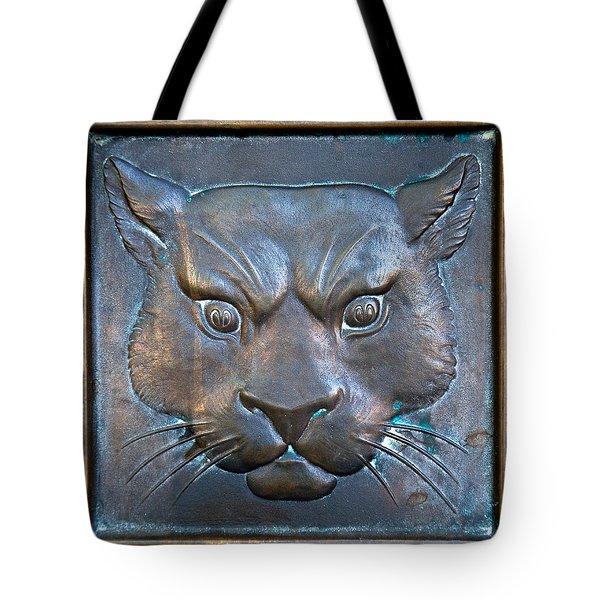 The Original Todd Hall Cougar Door Pulls - Washington State University Tote Bag