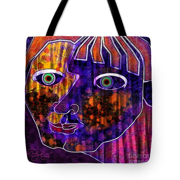 The Other Cheek Tote Bag by Carol Jacobs