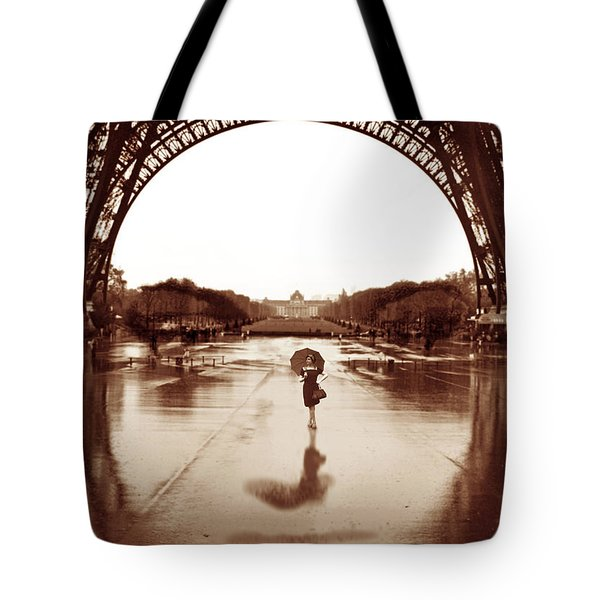 The Other Face Of Paris Tote Bag