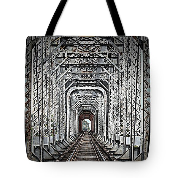 Tote Bag featuring the photograph The Other Side  by Barbara Chichester