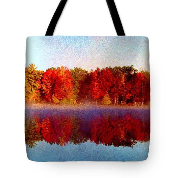 Tote Bag featuring the photograph The Other Side... by Daniel Thompson