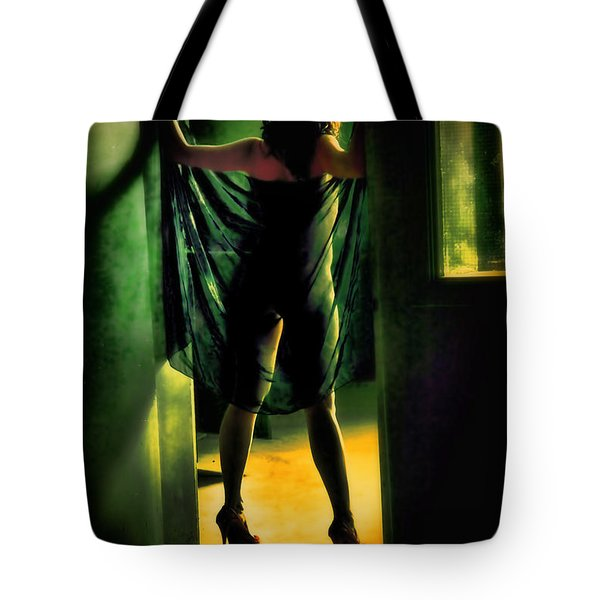 The Other Side Tote Bag by Diane Dugas