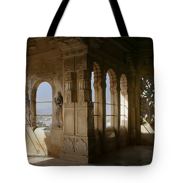 The Outlook For The Weekend Tote Bag by A Rey