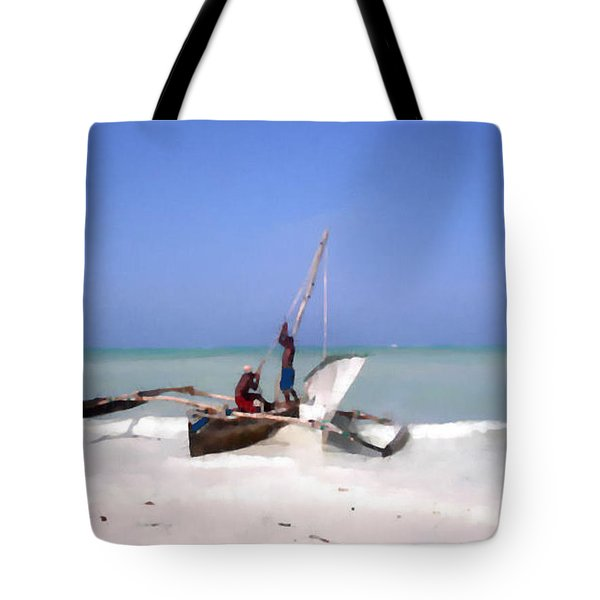 The Outrigger Tote Bag