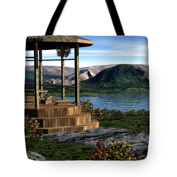 The Overlook Tote Bag by John Pangia
