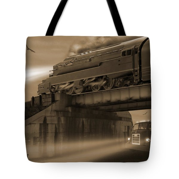 The Overpass 2 Tote Bag by Mike McGlothlen