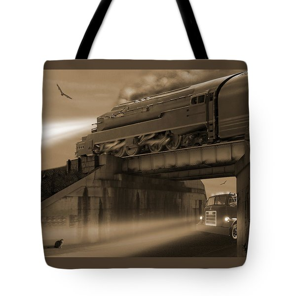 The Overpass 2 Tote Bag