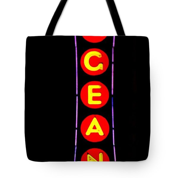 The Pageant In Neon Tote Bag