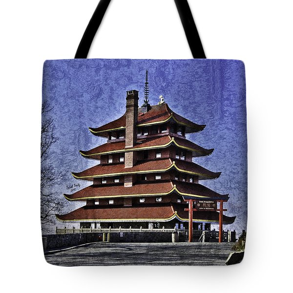 The Pagoda Tote Bag