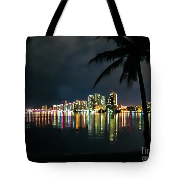 The Painted City Tote Bag by Rene Triay Photography
