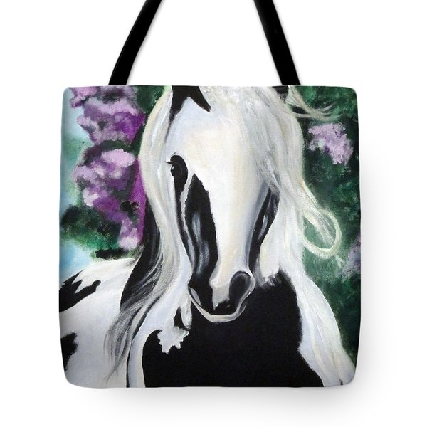 The Painted One Tote Bag