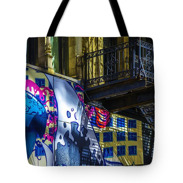 The Painted Stair Tote Bag