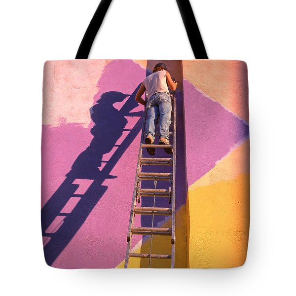 The Painter Tote Bag by Don Spenner