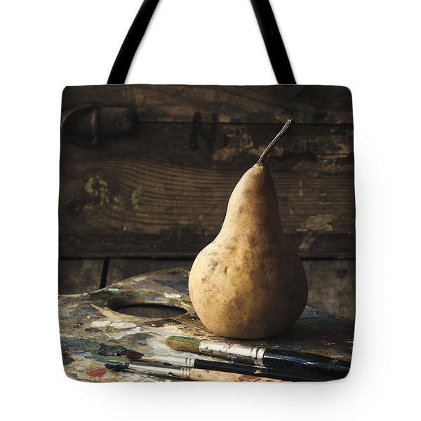 The Painter's Pear Tote Bag