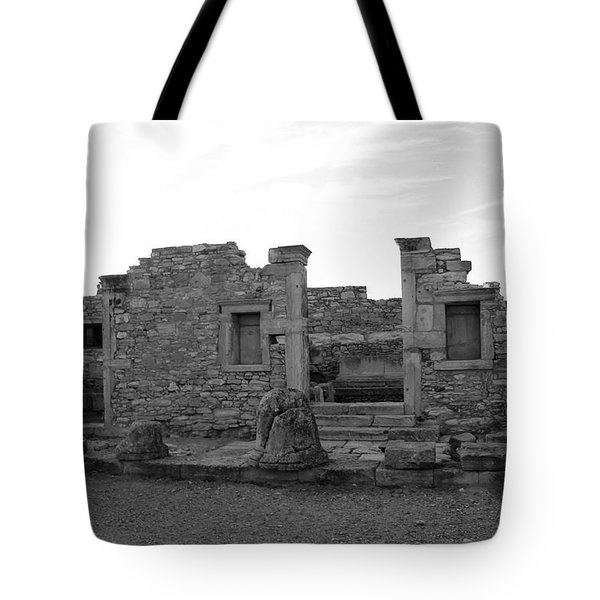 The Palaestra- Apollo Sanctuary  Tote Bag by Augusta Stylianou