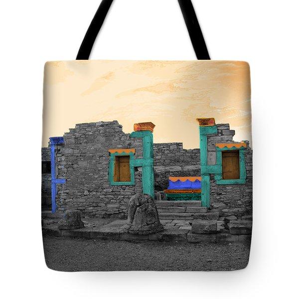 The Palaestra - Kourion-apollon Tote Bag by Augusta Stylianou