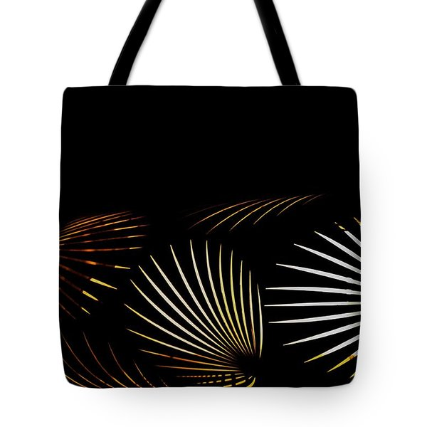 The Palm Frond Light Tote Bag by Darla Wood