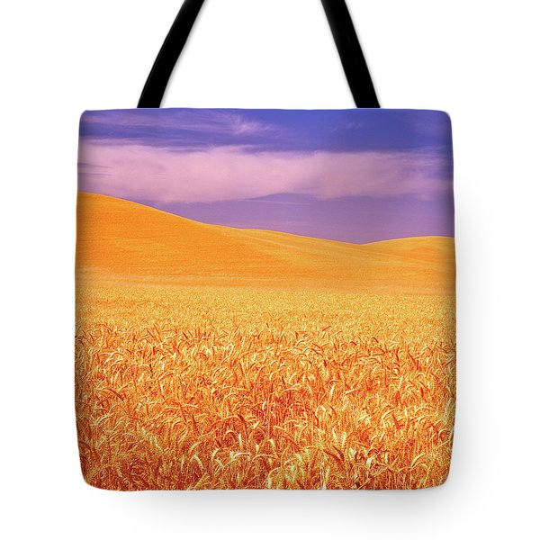 The Palouse Steptoe Butte Tote Bag