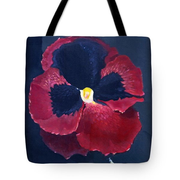 The Pansy Tote Bag