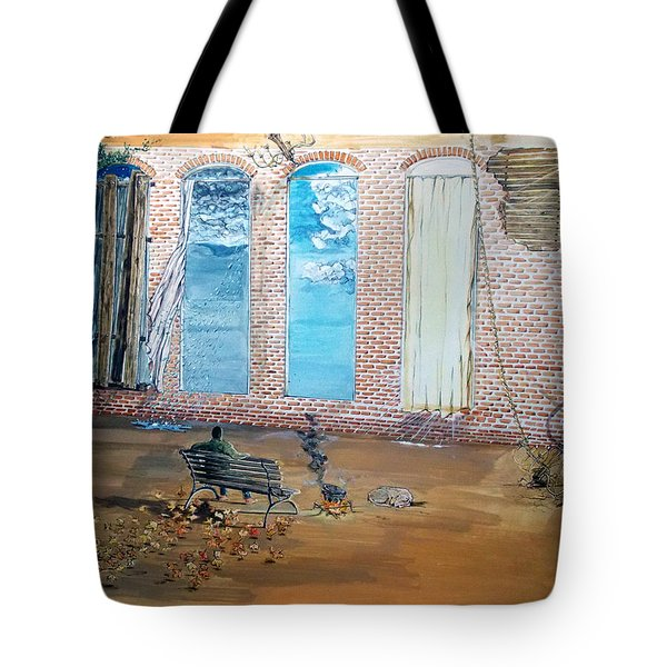 The Parade Of The Moods Tote Bag