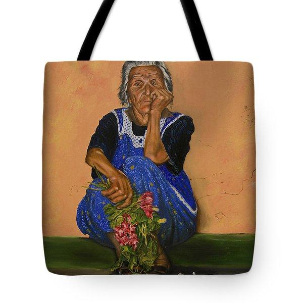 The Parga Flower Seller Tote Bag