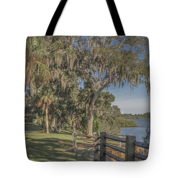 Tote Bag featuring the photograph The Park by Jane Luxton