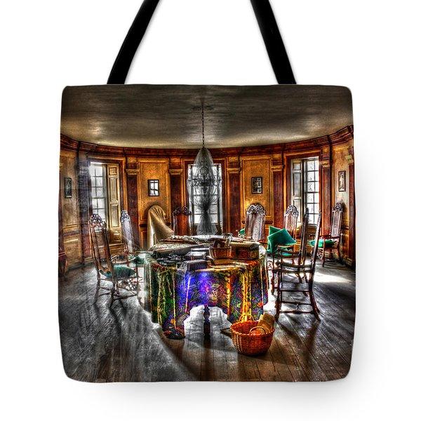 The Parlor Visit Tote Bag by Dan Stone