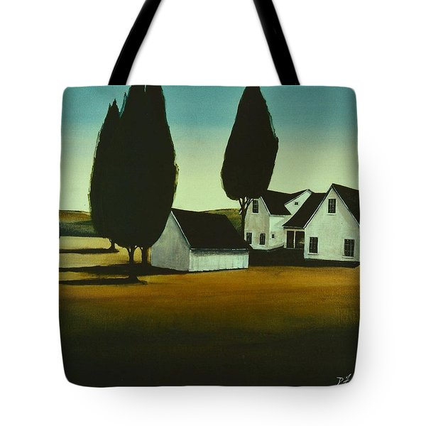 The Parson's House Tote Bag