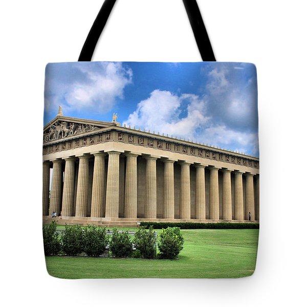 The Parthenon Tote Bag by Kristin Elmquist