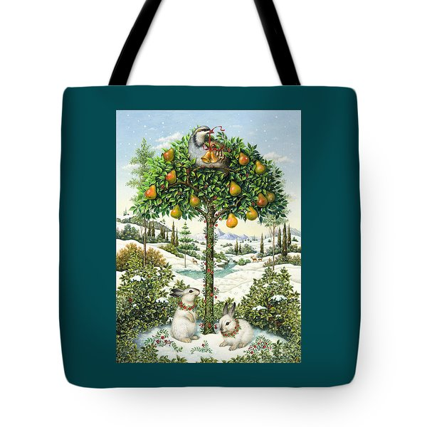 The Partridge In A Pear Tree Tote Bag
