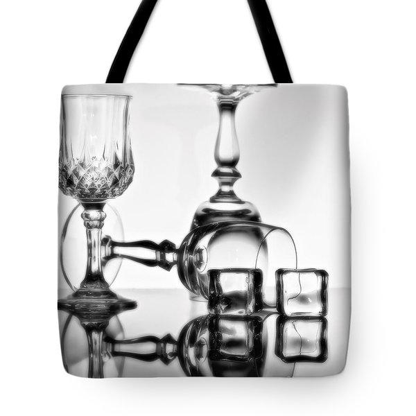 Tote Bag featuring the photograph The Party's Over by Linda Blair