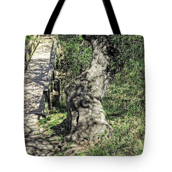 the Passageway Tote Bag by Ella Kaye Dickey
