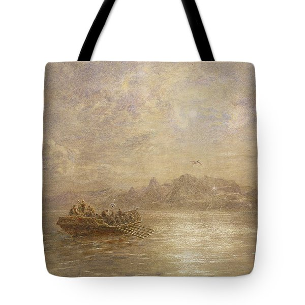 The Passing Of 1880 Tote Bag by Thomas Danby
