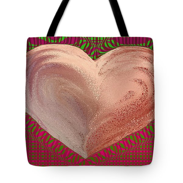 The Passionate Heart Tote Bag