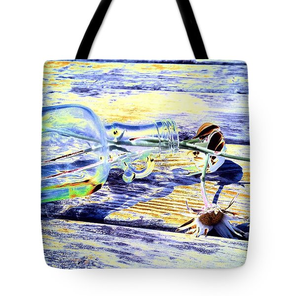 Lay The Past Down Behind Me Tote Bag