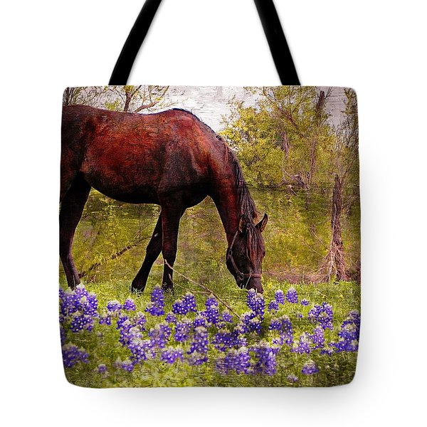 The Pasture Tote Bag by Kathy Churchman