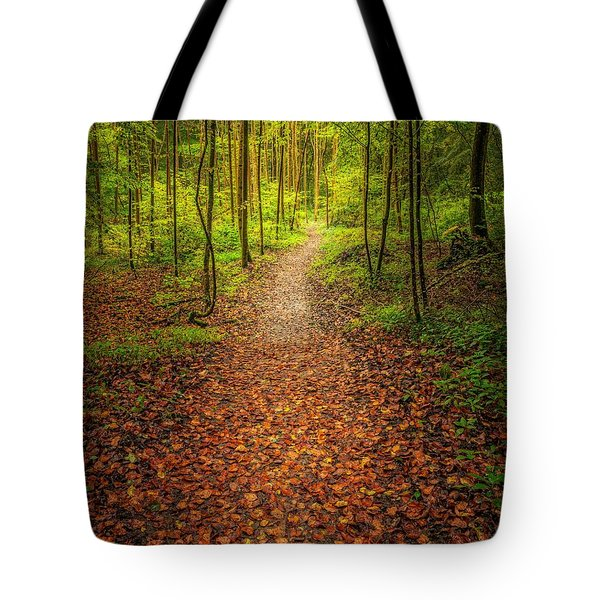 The Path Tote Bag by Maciej Markiewicz