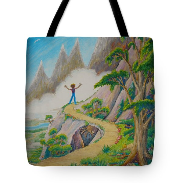 The Path Tote Bag