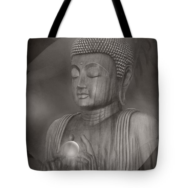 The Path Of Peace Tote Bag