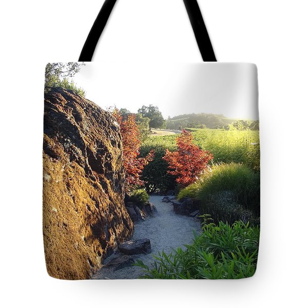 The Path Tote Bag by Shawn Marlow