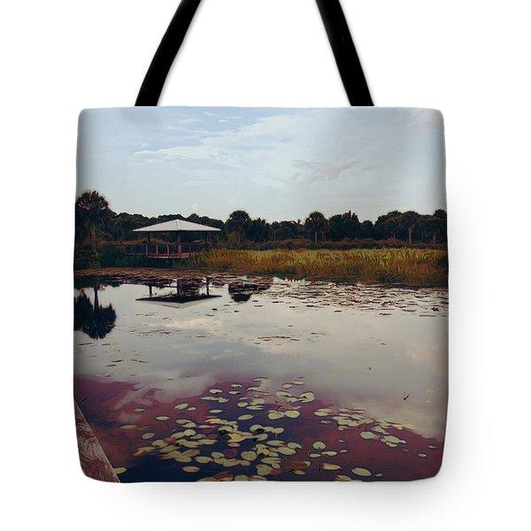 The Pavilion 2 Tote Bag by K Simmons Luna