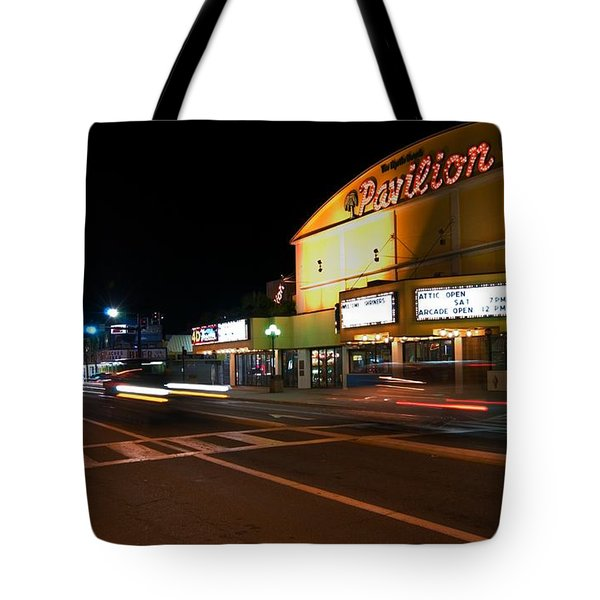 The Pavilion Myrtle Beach Tote Bag
